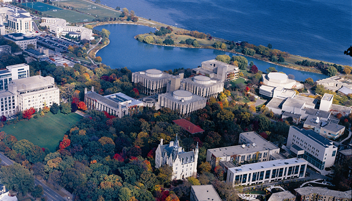 Most Beautiful College Campuses — Northwestern. Photo by Chicago's North Shore CVB