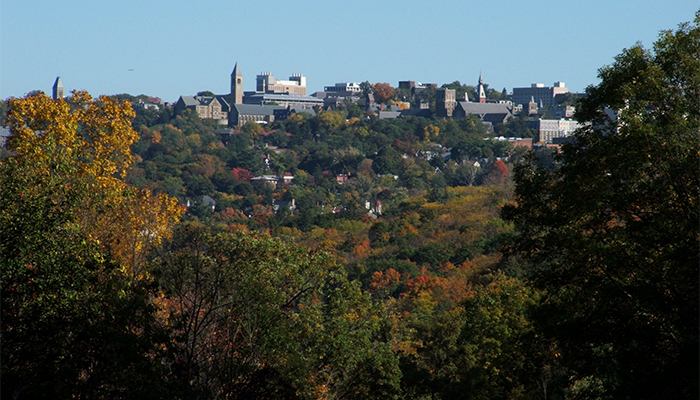 Most Beautiful College Campuses — Cornell University. Photo by Ithaca CVB