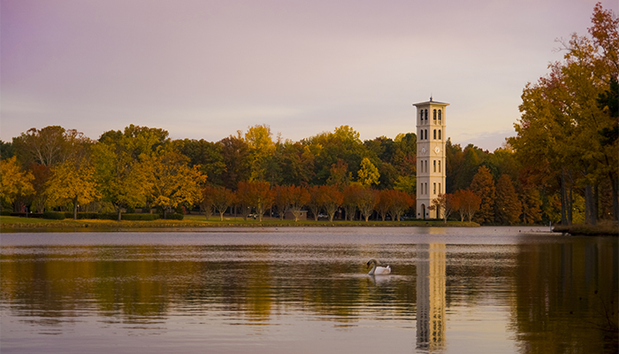 Most Beautiful College Campuses — Furman University. Photo by VisitGreenvilleSC