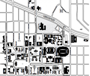 Maps Contacts And Info Smu Campus Map Resources For Southern