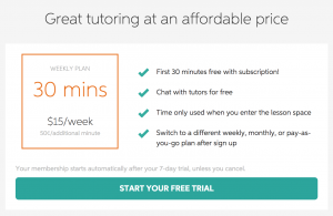 Great Tutoring at An Affordable Price