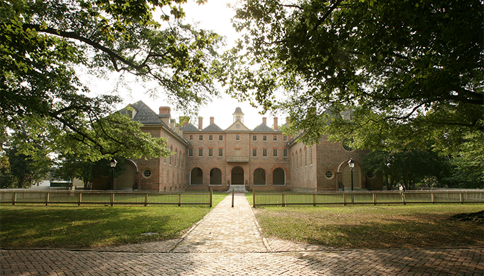 Most Beautiful College Campuses — William and Mary. Photo by Stephen Salpukas/College of William & Mary