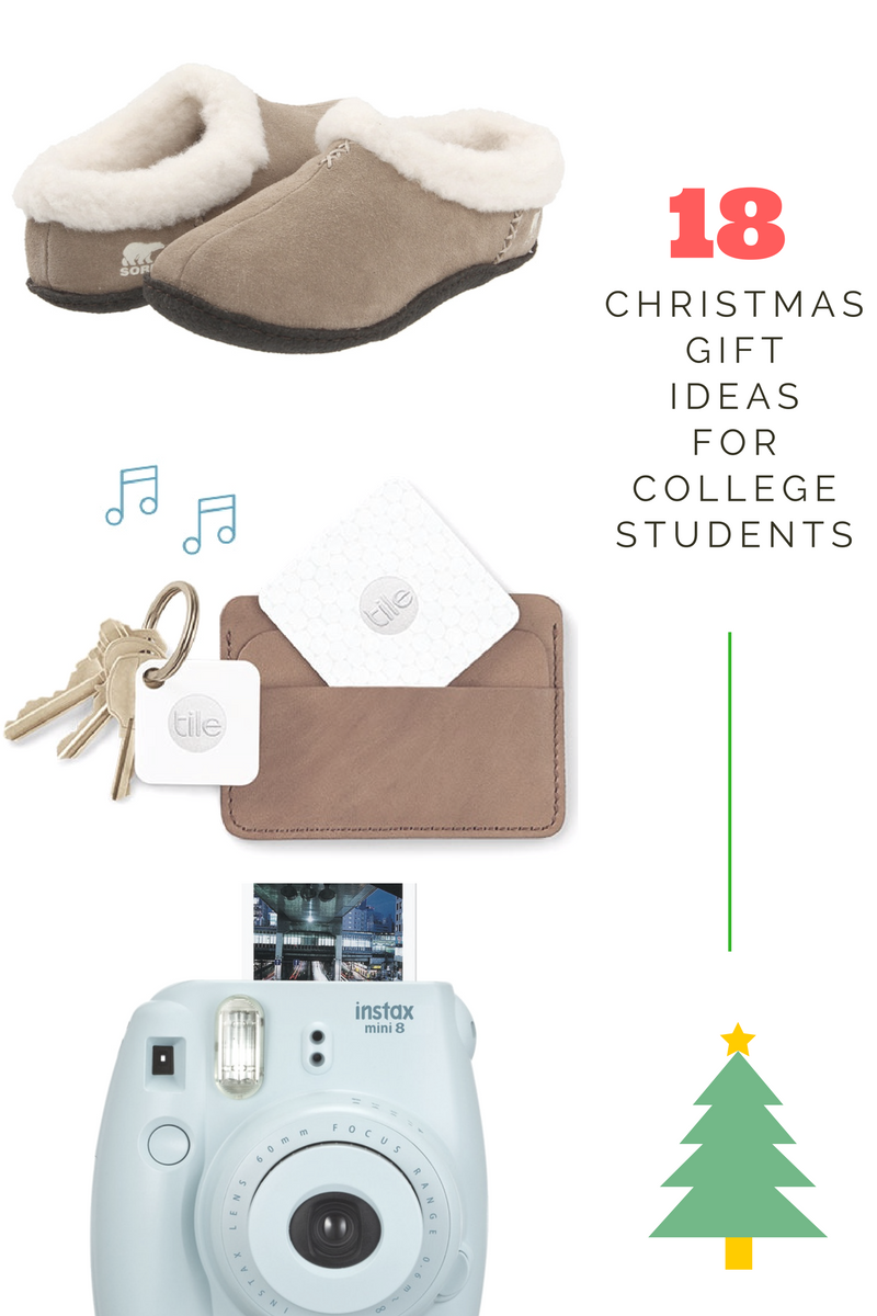 18 Christmas Gift Ideas for College Students