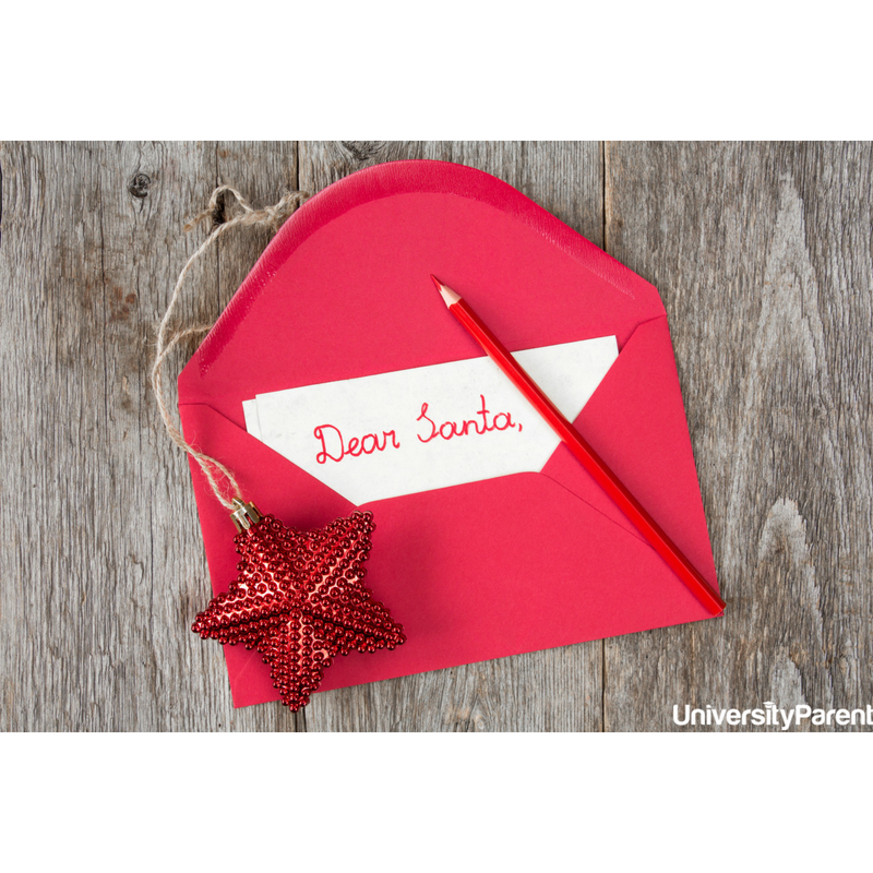 Dear Santa… Love, College Students