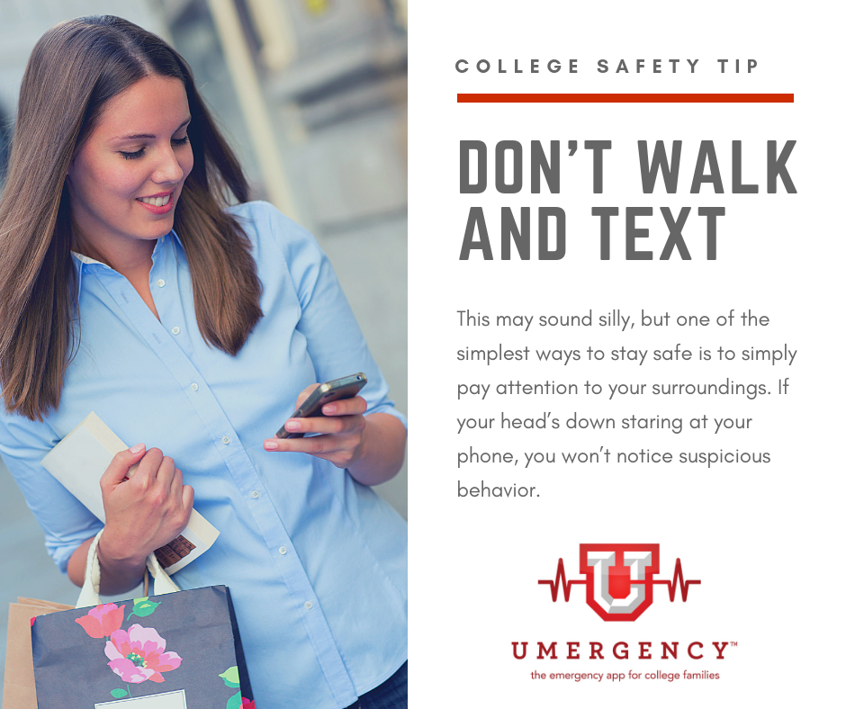 Don't walk and text