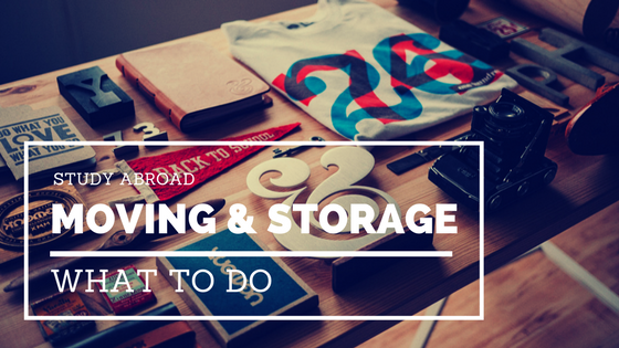 Study Abroad Moving and Storage