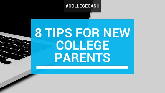 8 Tips For New College Parents