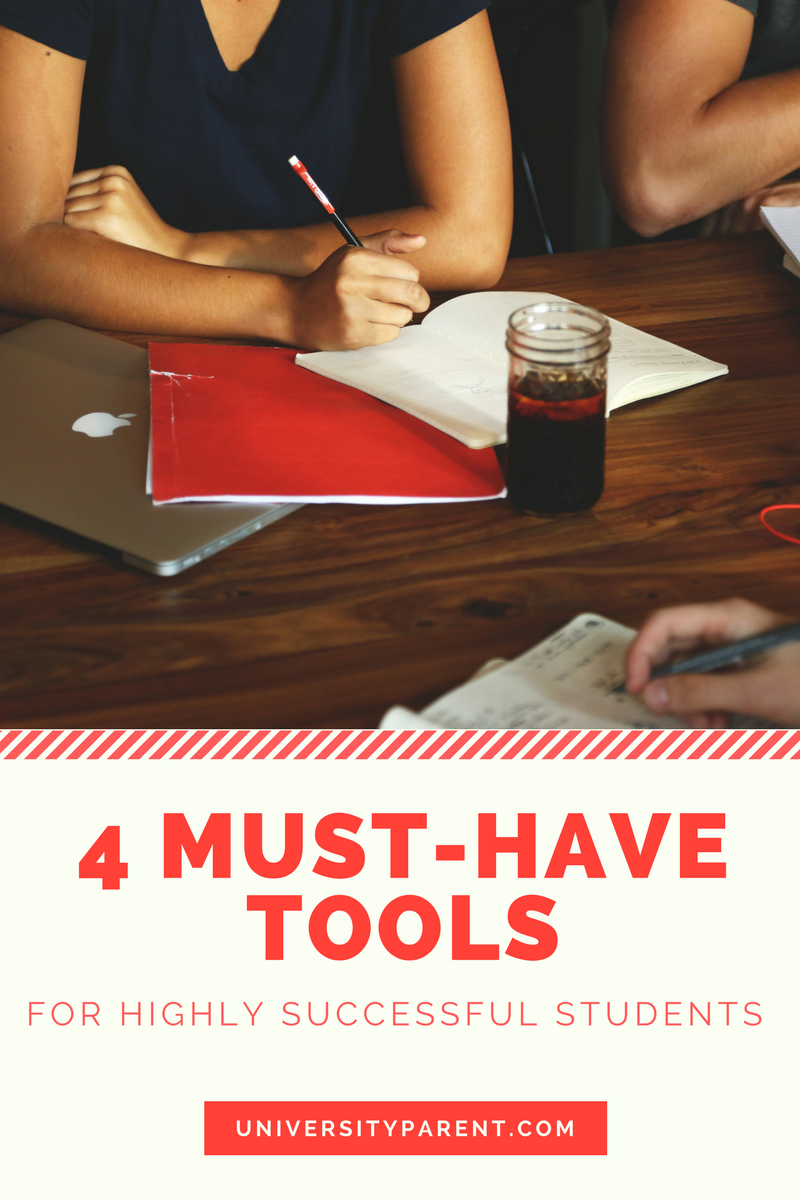 4 Must Have Tools for Highly Successful Students