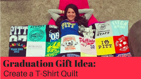 Graduation Gift Idea – Make a T-Shirt Quilt