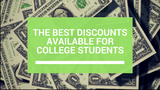 The Best Discounts Available for College Students