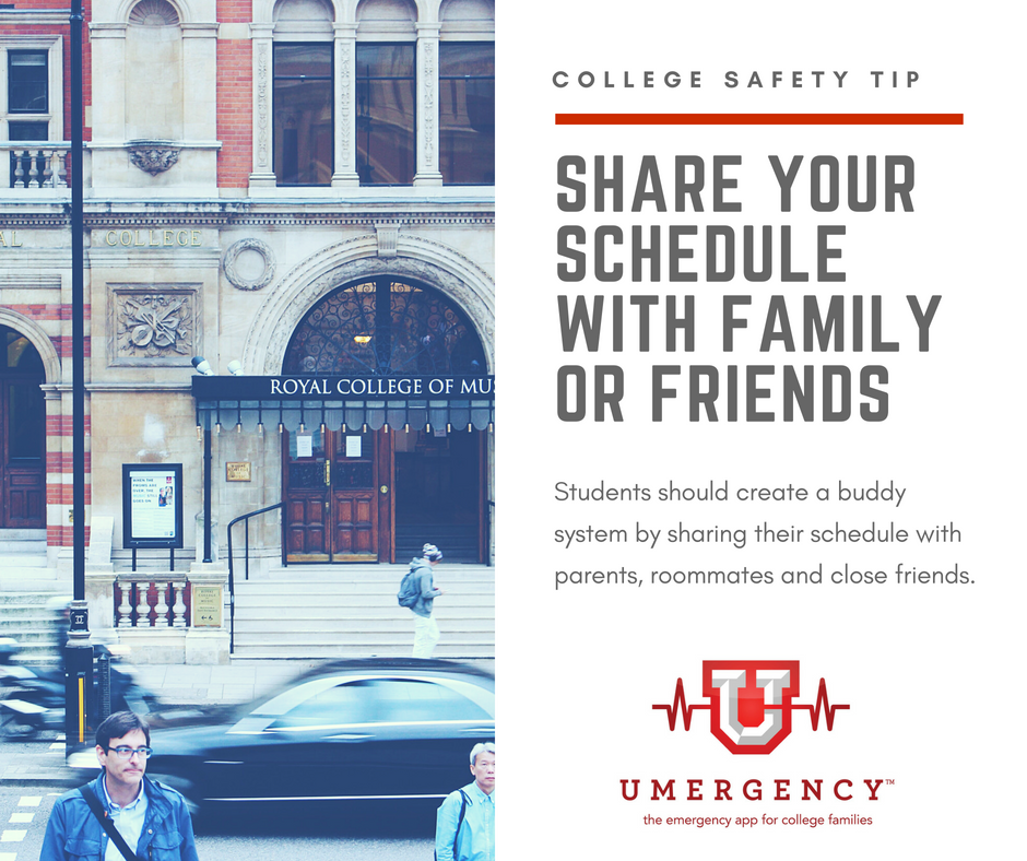 College Safety Tip