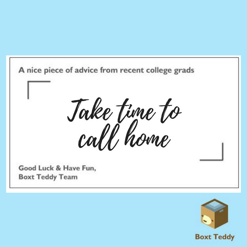 take time to call home