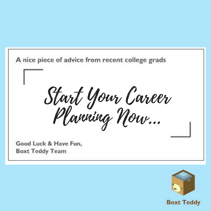 start career planning now