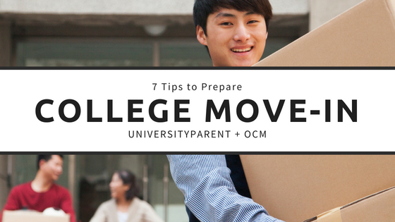 7 Tips to Prepare for College Move-in Day