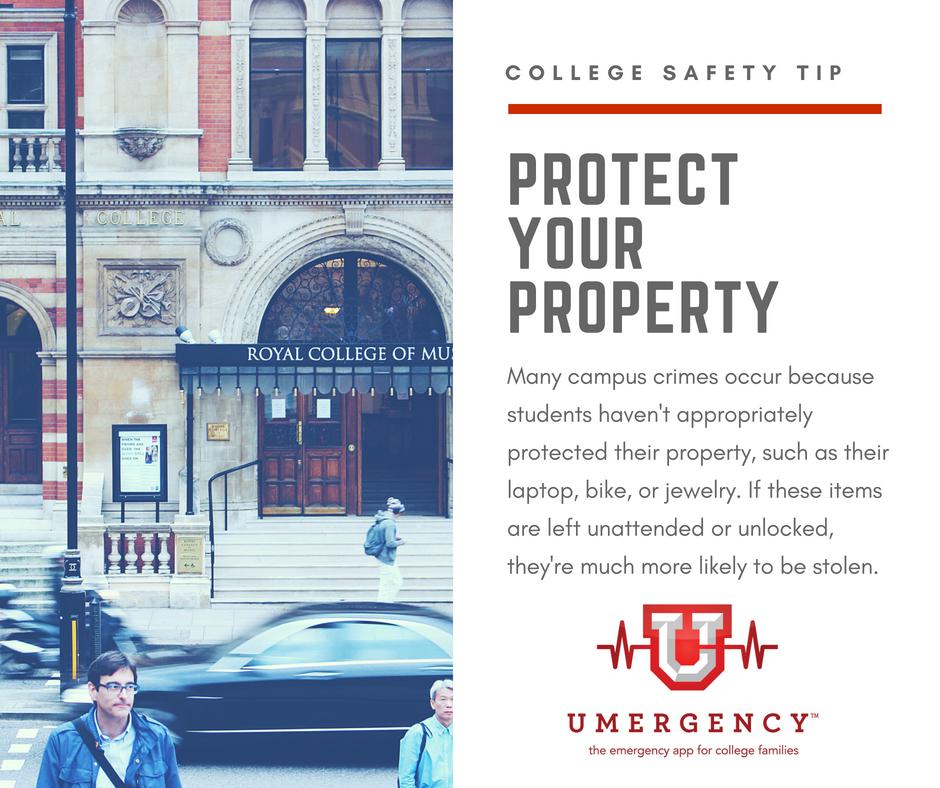 Campus Safety Tip