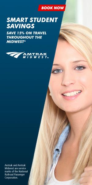 Amtrak College Student Discount