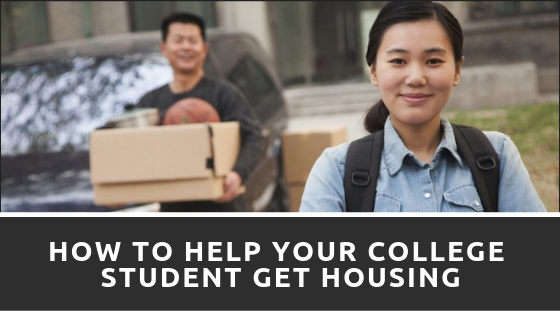 Here's How to Help Your College Student Get Housing