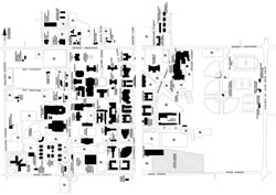 University Of Central Arkansas Campus Map.Uca Campus Map Resources For University Of Central Arkansas