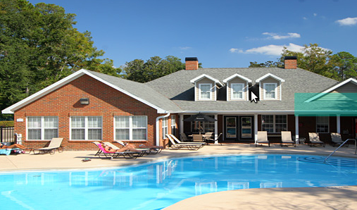 An image of the University Club Townhomes